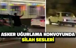 Ankara'da Asker Uğurlama Konvoyundaki Silah...