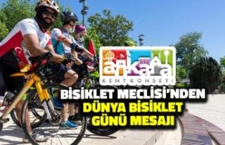 Ankara Kent Konseyi Bisiklet Meclisi'nden Dünya...