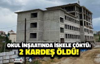 Ankara'da Okul İnşaatında İskele Çöktü: 2...
