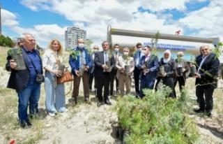 ASKİ'den 'Yeşilin Başkenti' Projesine...