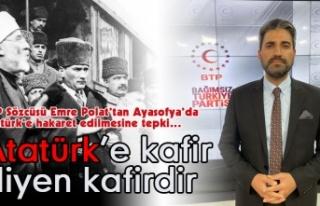 BTP'li Emre Polat: Ayasofya'yı İşgalden...