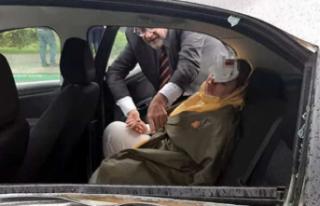 Davutoğlu'nun Konvoyunda Kaza: 2 Yaralı Var