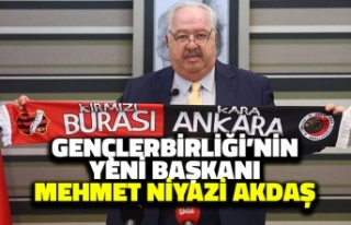 Gençlerbirliği'nin Yeni Başkanı Mehmet Niyazi...