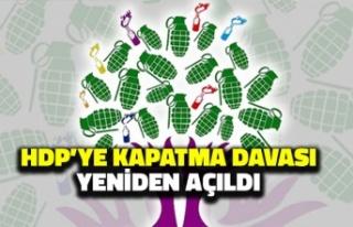 HDP'ye Kapatma Davası Yeniden Açıldı