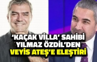 'Kaçak Villa' Sahibi Yılmaz Özdil'den...