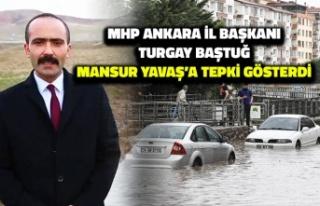 MHP Ankara İl Başkanı Turgay Baştuğ, Mansur Yavaş'a...