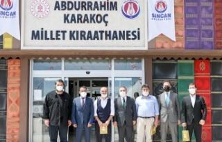 Sincan'da Abdurrahim Karakoç Şiir Yarışması'nda...