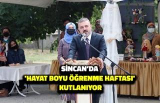 Sincan'da 'Hayat Boyu Öğrenme Haftası'...