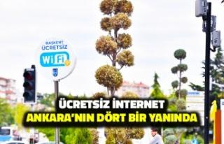 Ücretsiz İnternet Ankara'nın Dört Bir Yanını...