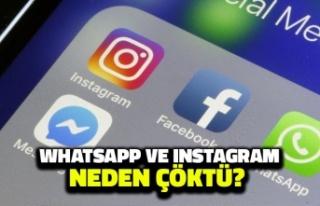 WhatsApp ve Instagram Çöktü mü? WhatsApp Neden...