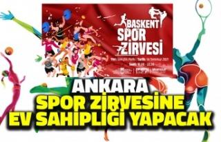 Ankara Spor Zirvesine Ev Sahipliği Yapacak
