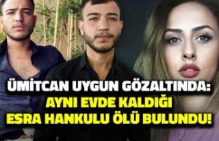 Ümitcan Uygun gözaltında: Aynı evde kaldığı...