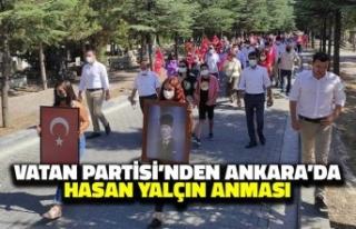 Vatan Partisi'nden Ankara'da Hasan Yalçın...