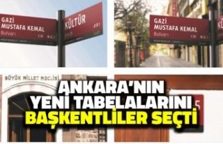 Ankara'nın Yeni Tabelalarını Başkentliler...