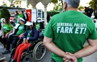 6 Ekim Dünya Serebral Palsi Günü'nde Ankara Farkındalığa...