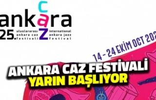 Ankara Caz Festivali Yarın Başlıyor