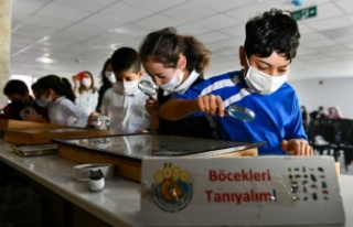 Ankaralı Çocuklara Böceklerle Ekoloji Eğitimi...