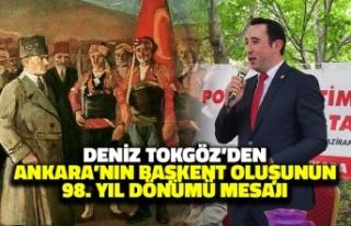 Deniz Tokgöz'den Ankara'nın Başkent Oluşunun...