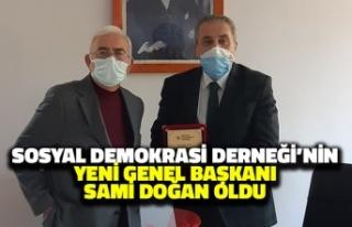 Sosyal Demokrasi Derneği'nin Yeni Başkanı...