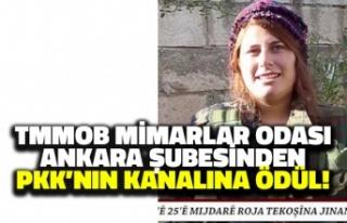 TMMOB Mimarlar Odası Ankara Şubesinden PKK'nın...