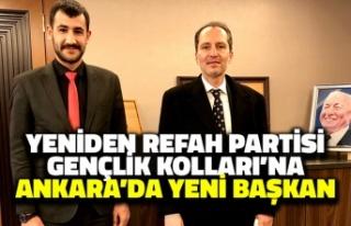 Yeniden Refah Partisi Gençlik Kolları'na Ankara'da...
