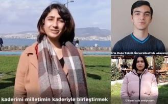 Üniversiteli Yüzlerce Genç: Ülkemi Çok Seviyorum