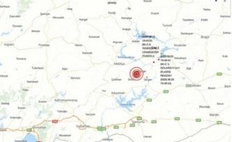 Malatya Yine Sallandı: 5,7 Büyüklüğünde Deprem!