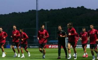 A Milli Futbol Takımı Almanya Maçına Hazırlanıyor
