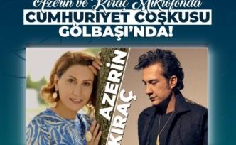 Azerin ve Kıraç'tan Ankara'da 29 Ekim Konseri!