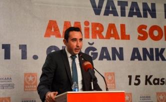 Vatan Partisi Ankara İl Başkanlığına Deniz Tokgöz Seçildi