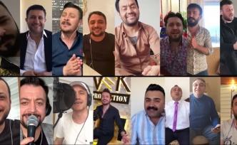 Ankaralı sanatçılardan 'Evde Kal' konseri