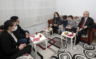 Kılıçdaroğlu'ndan Ankara'da Apartman Görevlisine Ziyaret