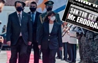 """Yunan Gazetesi Rezil Manşetini Yeniden Yayınladı: """"Onur Duyarız"""""""