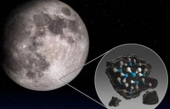 Ay Yüzeyinde Su Bulundu