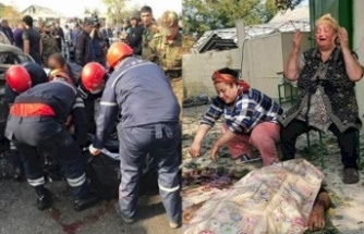Ermenistan Berde'de Sivilleri Vurdu!