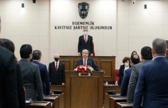 Ersin Tatar Ant İçerek Cumhurbaşkanlığı Görevine Başladı
