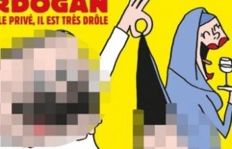 Fransız Karikatür Dergisinden Erdoğan'a Büyük Terbiyesizlik