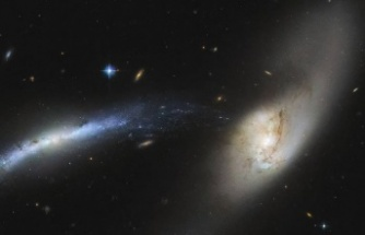 NASA Teleskobu İki Galaksinin Birleşmesini Görüntüledi