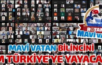 Türkiye Gençlik Birliği Mavi Vatan için Kolları Sıvıyor