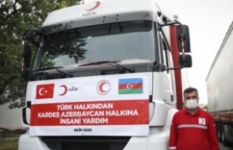 Türk Kızılay'ından Azerbaycan için Yardım Kampanyası