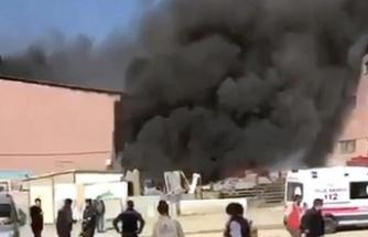 Ankara'da Panik Yaratan Yangın!