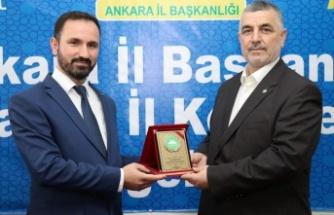 HÜDA PAR Ankara İl Başkanı Değişti