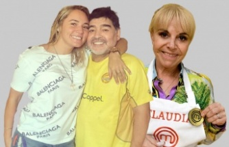 Maradona'nın Cenazesinde Rezalet: Eski Karısı ve Eski Sevgilisi Birbirine Girdi!