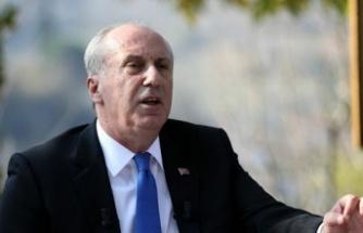 Muharrem İnce: CHP'ye Güvenerek Hata Yaptım