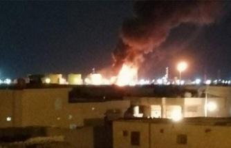 Petrol Rafinerisine Roketli Saldırı