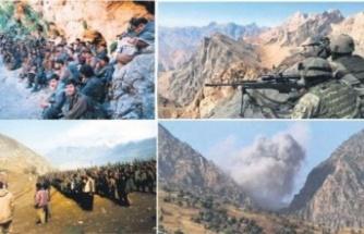 Teröristlerin Telsizinden 'Kaç Heval Kaç' Sesleri Duyuldu!