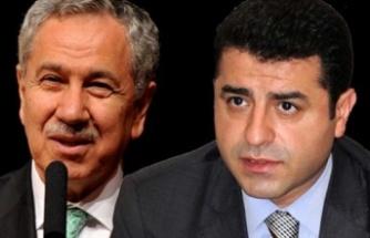 Bülent Arınç'tan Yeni Açıklama: Demirtaş'ı Savunmakta Kararlıymış!