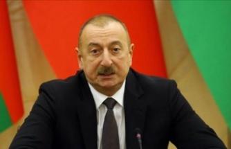 İlham Aliyev ulusa seslendi