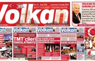KKTC'yi Aydınlatan Gazete Volkan 19 Yaşında!