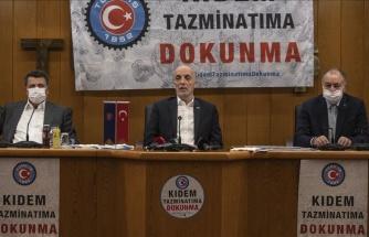 Türk-İş'ten Kıdem Tazminatı Açıklaması: Greve Gideriz